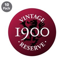 "Vintage Reserve 1900 3.5"" Button (10 pack)"