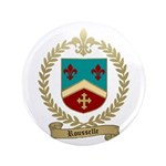 "ROUSSELLE Family Crest 3.5"" Button"