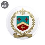 "ROUSSELLE Family Crest 3.5"" Button (10 pack)"