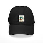 ROUSSELLE Family Crest Black Cap