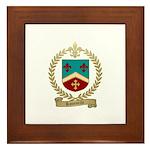 ROUSSELLE Family Crest Framed Tile