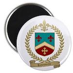 ROUSSELLE Family Crest Magnet