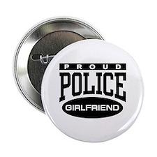 "Proud Police Girlfriend 2.25"" Button"