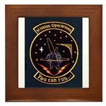 Mission Operations Framed Tile