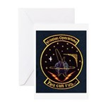 Mission Operations Greeting Card