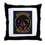 Mission Operations Throw Pillow