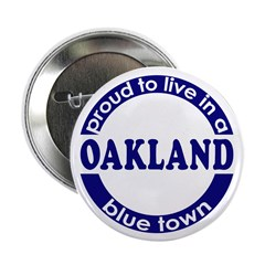 Oakland: Blue Town 2.25&quot; Button (100 pack)