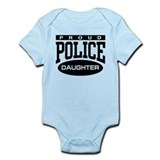 Proud Police Daughter Infant Bodysuit