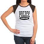 Proud Police Niece Women's Cap Sleeve T-Shirt