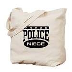 Proud Police Niece Tote Bag