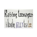 Raising teenagers Rectangle Magnet