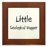 Little Geological Mapper Framed Tile