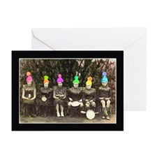silly hats birthday card Greeting Cards (Pk of 20)