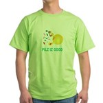 Pilz Is Good Green T-Shirt