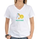 Pilz Is Good Women's V-Neck T-Shirt