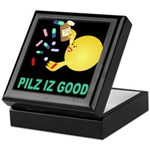 Pilz Is Good Keepsake Box