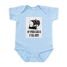 VIKING TALL SHIP Infant Bodysuit