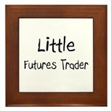 Little Futures Trader Framed Tile