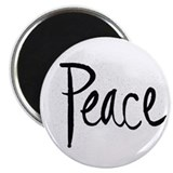 Clear Peace Magnet