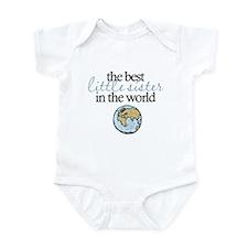 Best Little Sister Infant Bodysuit