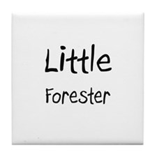 Little Forester Tile Coaster