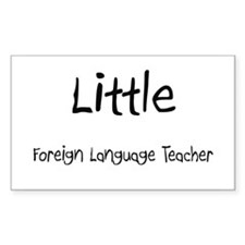 Little Foreign Language Teacher Decal