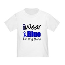I Wear Blue For My Uncle T