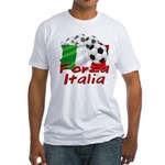 Italian Soccer Fitted T-Shirt