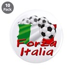 "Italian Soccer 3.5"" Button (10 pack)"