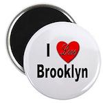 I Love Brooklyn New York Magnet