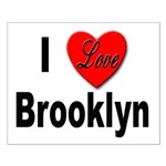 I Love Brooklyn New York Small Poster