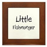 Little Fishmonger Framed Tile