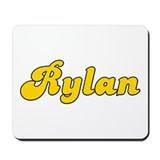 Retro Rylan (Gold) Mousepad