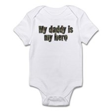 Daddy Is My Hero Infant Bodysuit
