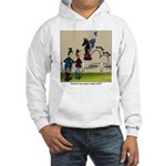 A Knight's Steed Hooded Sweatshirt