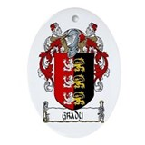 Grady Coat of Arms Keepsake Ornament