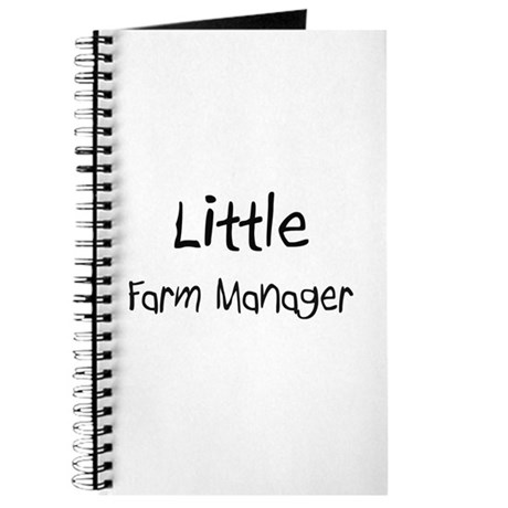 Little Farm Manager Journal
