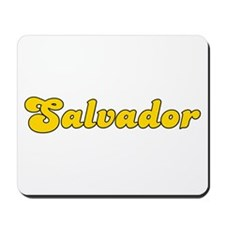 Retro Salvador (Gold) Mousepad