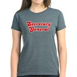 Retro Secretary g.. (Red) Tee