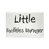 Little Facilities Manager Rectangle Magnet