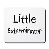Little Exterminator Mousepad