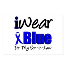 I Wear Blue For My S-I-L Postcards (Package of 8)