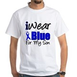 I Wear Blue For My Son Shirt