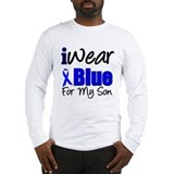 I Wear Blue For My Son Long Sleeve T-Shirt