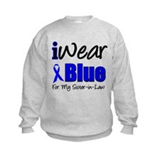 I Wear Blue For My S-I-L Sweatshirt