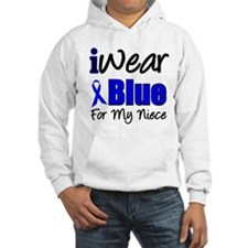 I Wear Blue For My Niece Hoodie