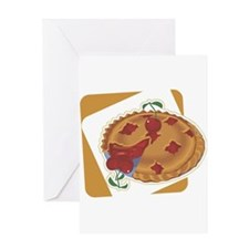 Cherry Pie Greeting Card