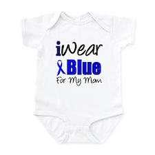I Wear Blue For My Mom Infant Bodysuit