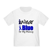 I Wear Blue For My Mommy T