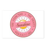 Sunshine Princess Beauty Goddess Postcards (Packag